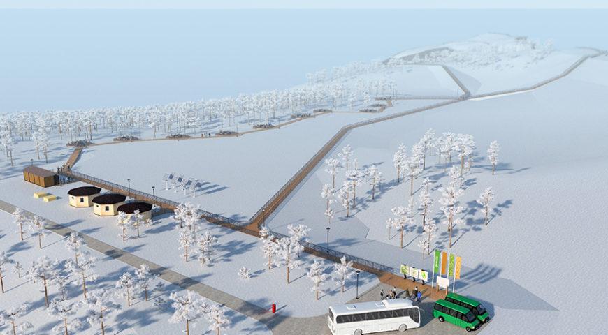 Проект инфраструктуры, мыс Хобой